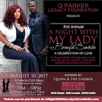 "Q Parker of 112's ""A Night with My Lady"" Soireè"