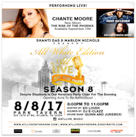 Season 8 of ATL Live on the Park at Park Tavern featuring Chante Moore