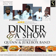 Dinner & Show/ Saturday MIXX at Suite Lounge